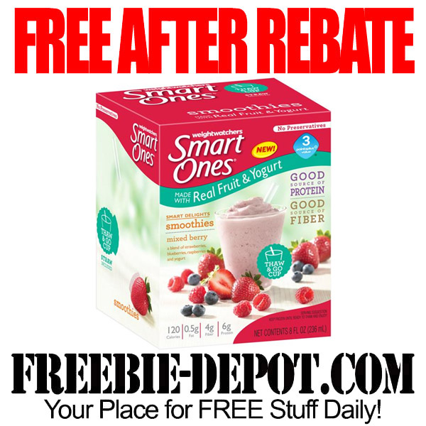 Free After Rebate Smoothie with Coupon