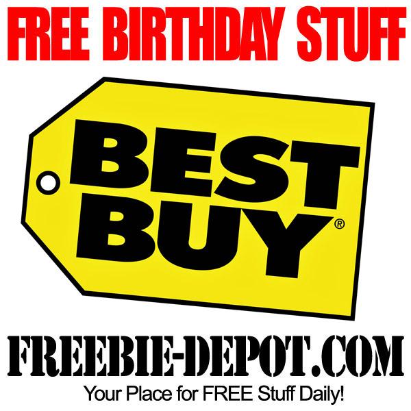 Free Birthday Best Buy Certificate