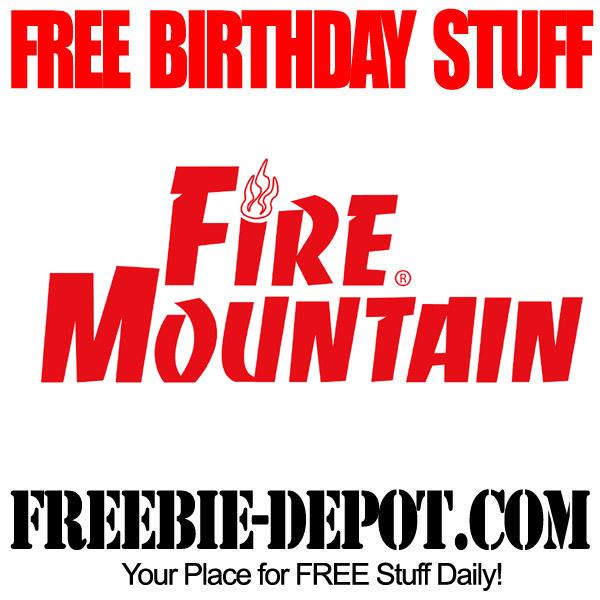 Free Birthday Fire Mountain