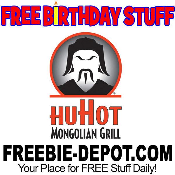 FREE BIRTHDAY STUFF – HuHot Mongolian Grill