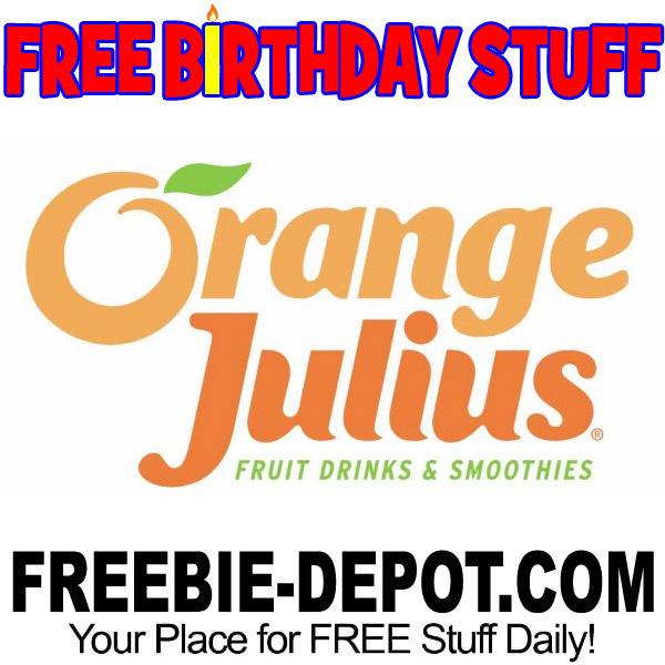 FREE BIRTHDAY STUFF – Orange Julius