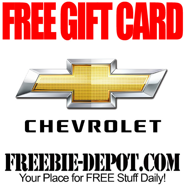 free chevy gift card - Free Gift Card Rewards