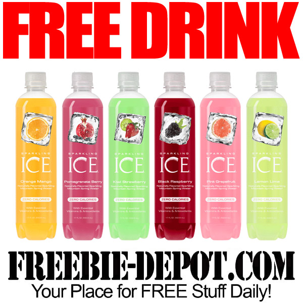 Free-Drink-Sparkling-Ice