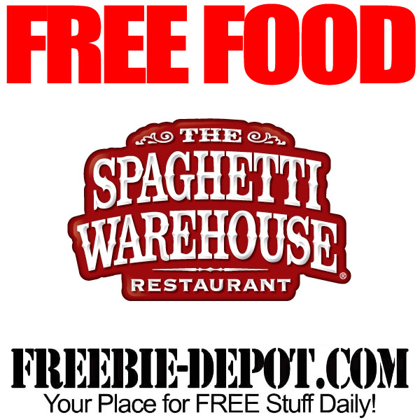 Free Appetizer at Spaghetti Warehouse