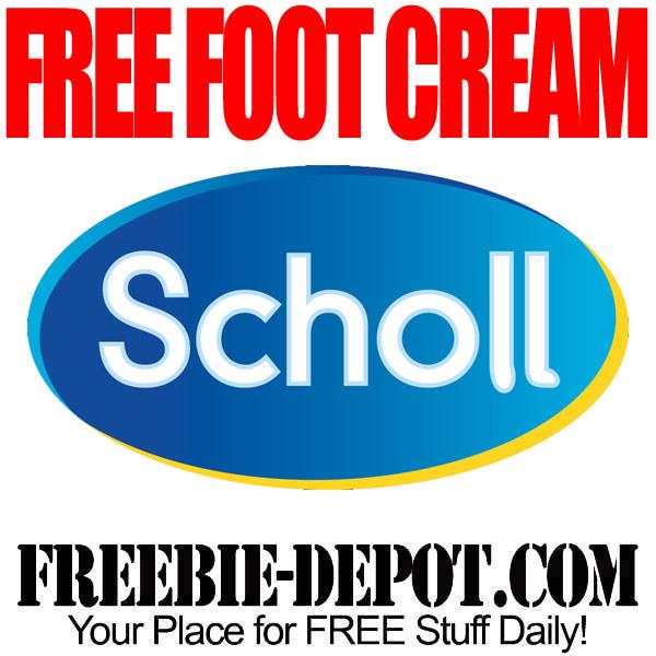 Free Scholl Foot Cream