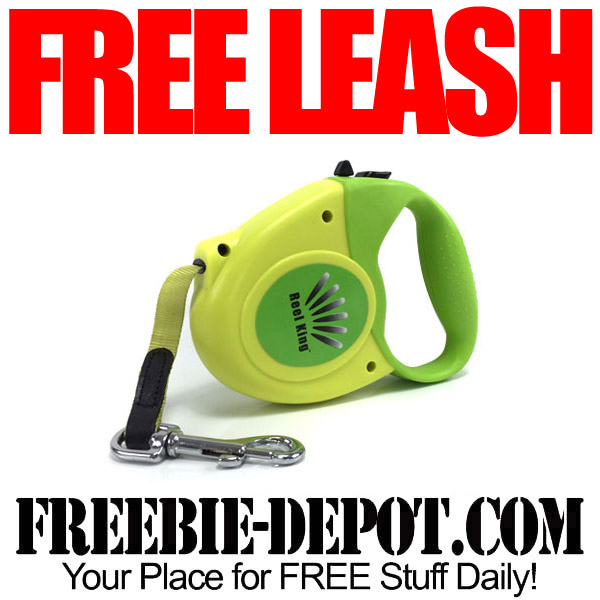 FREE Reel King Retractable Dog Leash – $20 Value – LIMITED QUANTITY