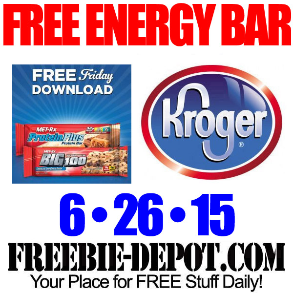Free MetRx Kroger - Friday Freebie