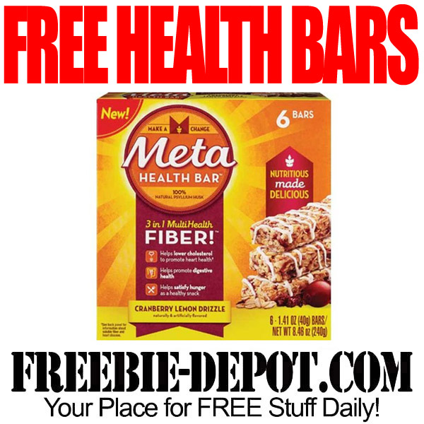 Free Meta Health Nutrition Bars at CVS Stores