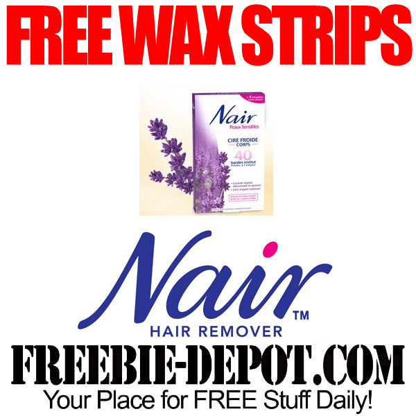 Free-Nair-Wax-Strips