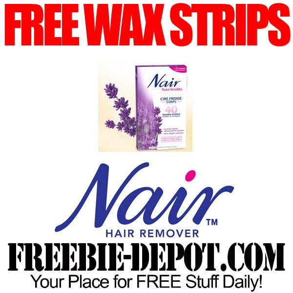 Free-Nair-Wax-Strips