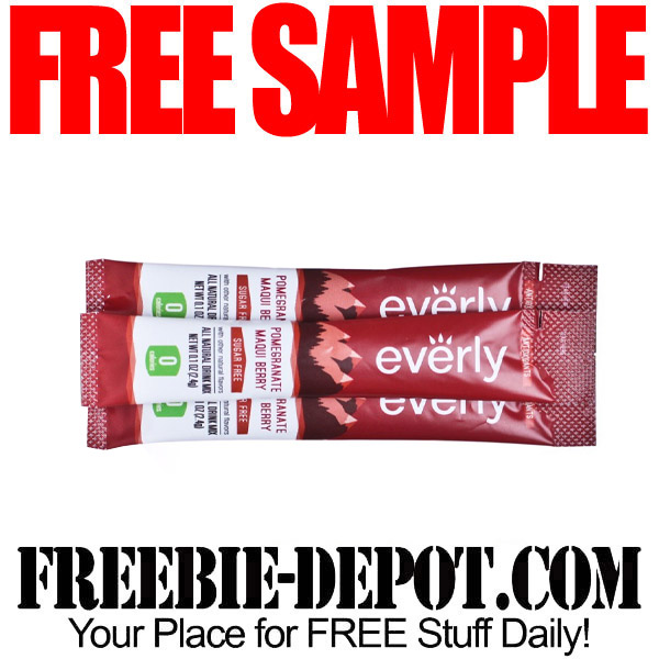 Free Drink Mix Sample Everly