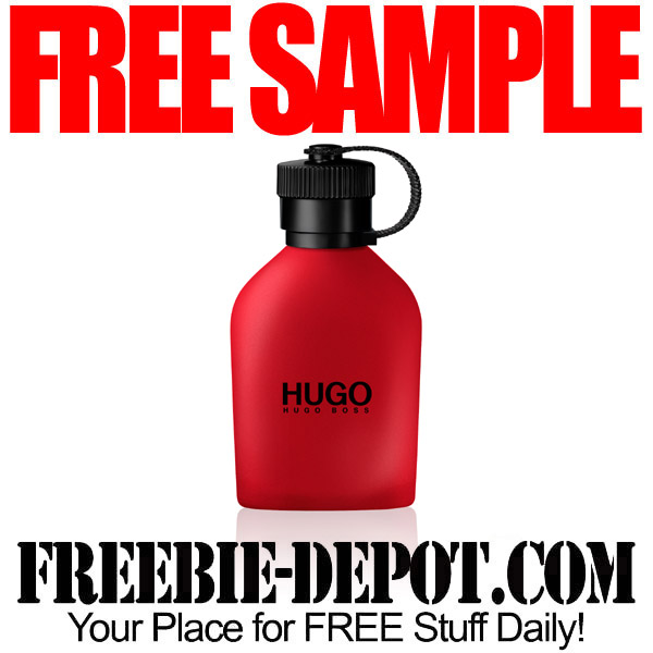 Free-Sample-HUGO-Red