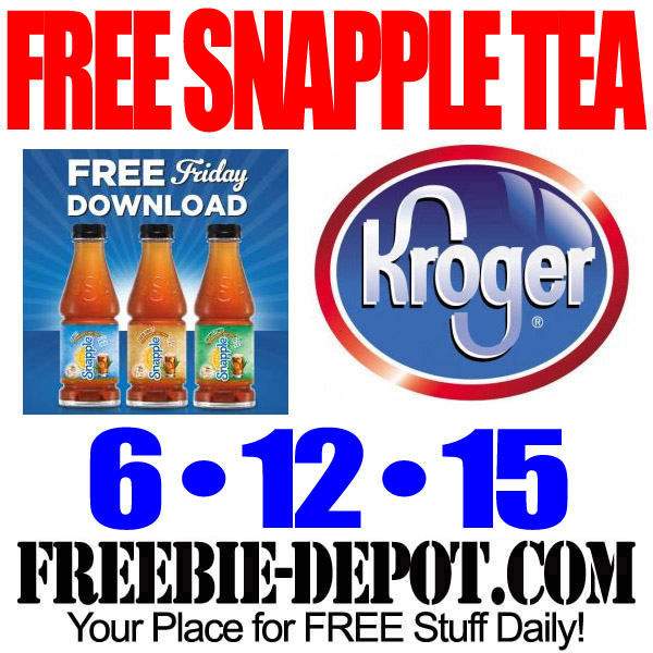 Free-Snapple-Kroger