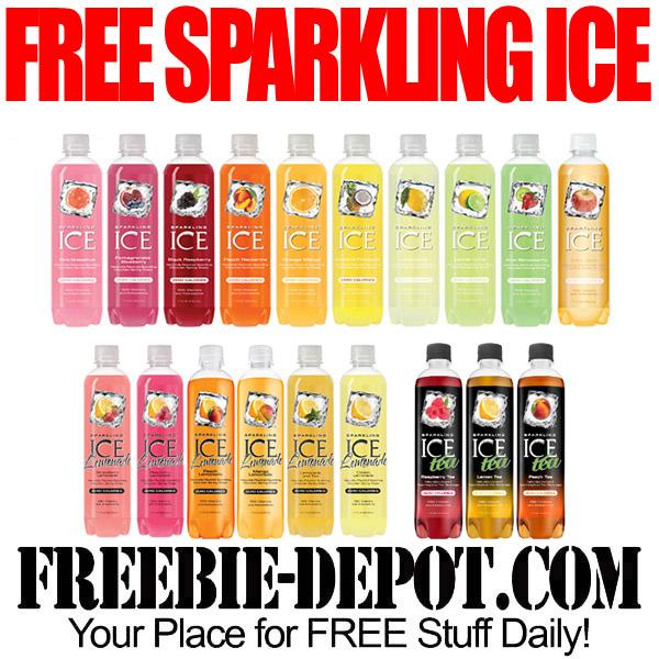 Free Sparkling Ice Tea