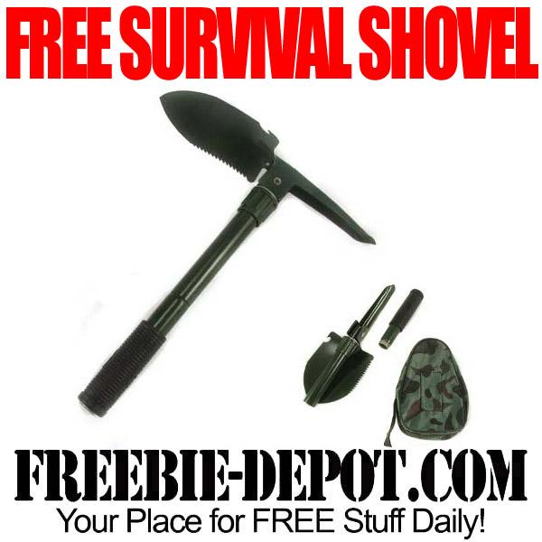 Free Survival Shovel