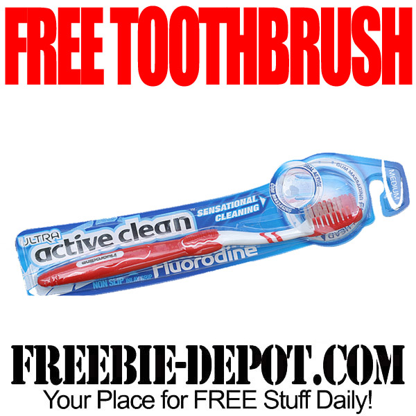 Free Toothbrush for Testing