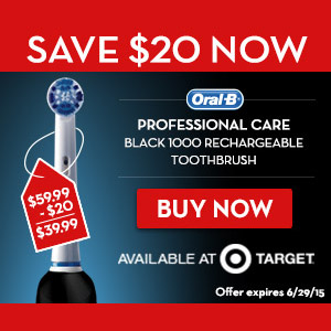 Oral –B at Target Father's Day – Huge Sale!