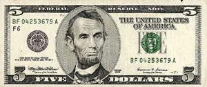 $5 Free Cash Bonus