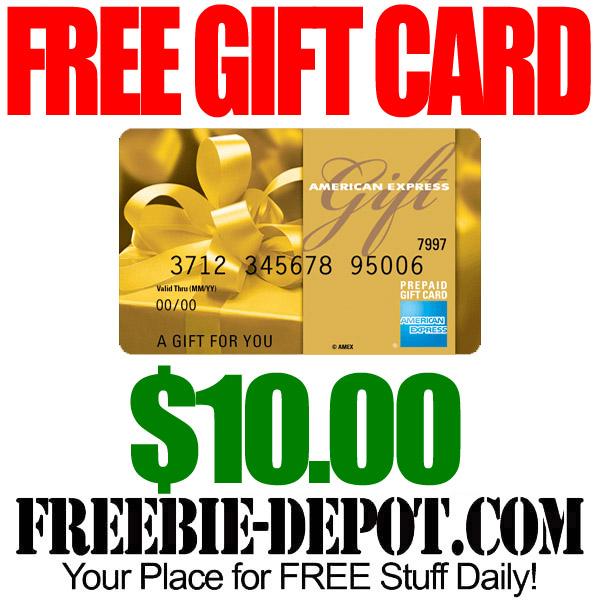 Free AMEX Gift Card