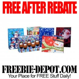 FREE AFTER REBATE – 6 Christmas Gift Bags from Tiger Direct – Exp 10/31/15