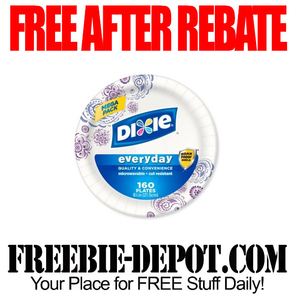 Free After Rebate Dixie Plates