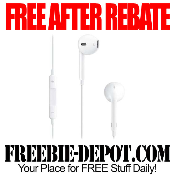Free After Rebate Ear Buds for iPhone