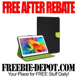 FREE AFTER REBATE – Galaxy Tablet Wallet Case w/ FREE Shipping – $20 Value