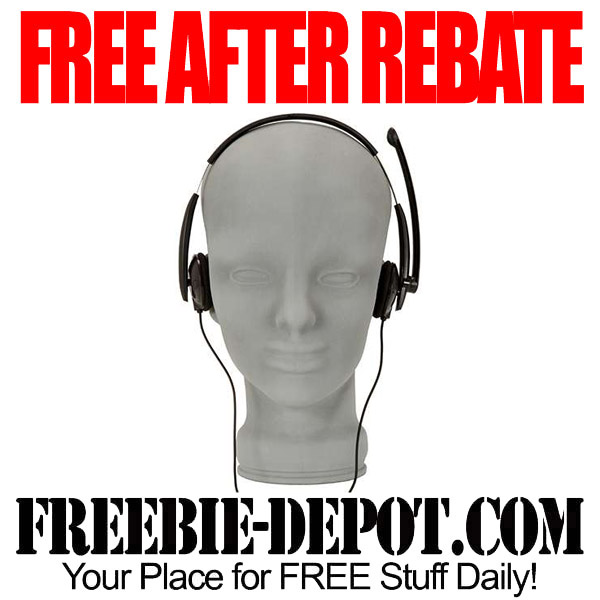 Free After Rebate Headset Microsoft