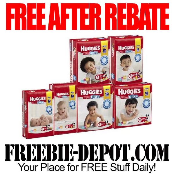 Free After Rebate Huggies Diapers at Walmart