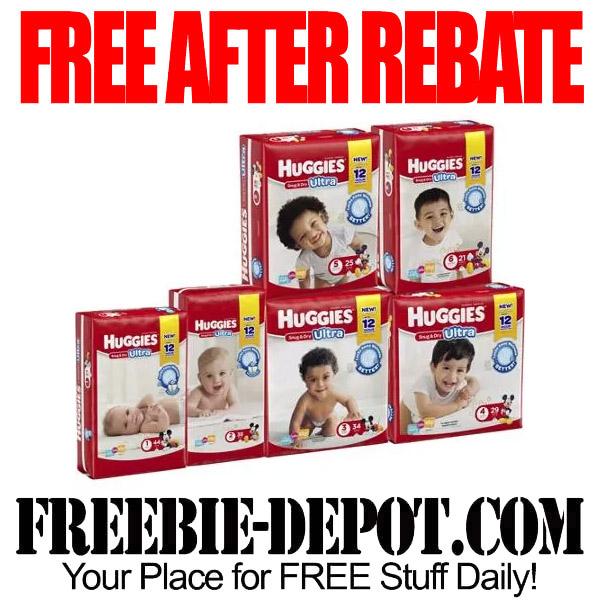 Free After Rebate Huggies Diapers at Walmart