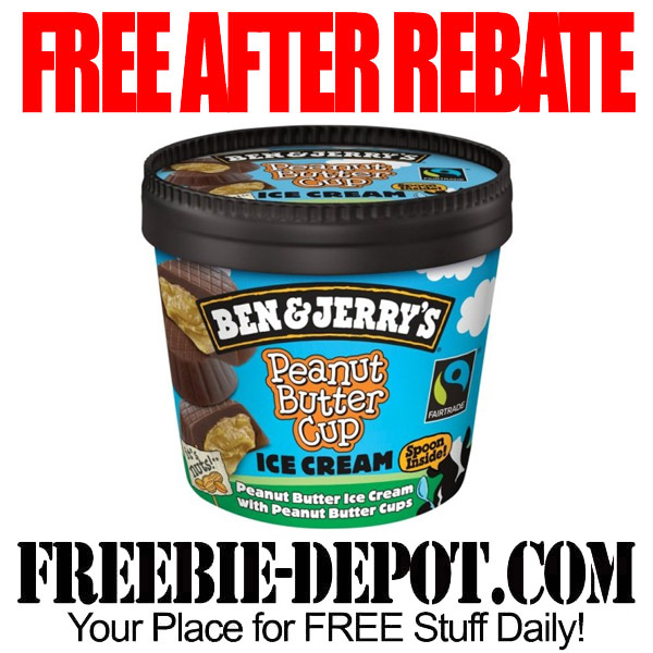 Free After Rebate Ice Cream Ben Jerrys