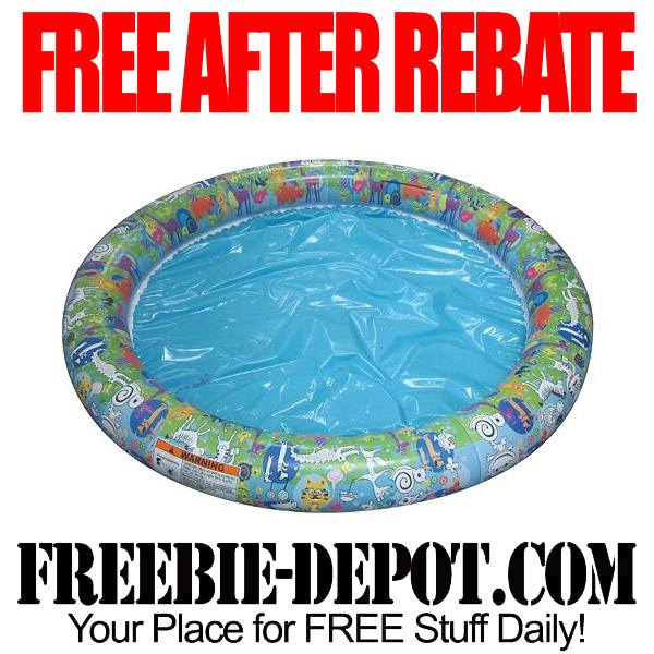 Free After Rebate Kiddie Pool