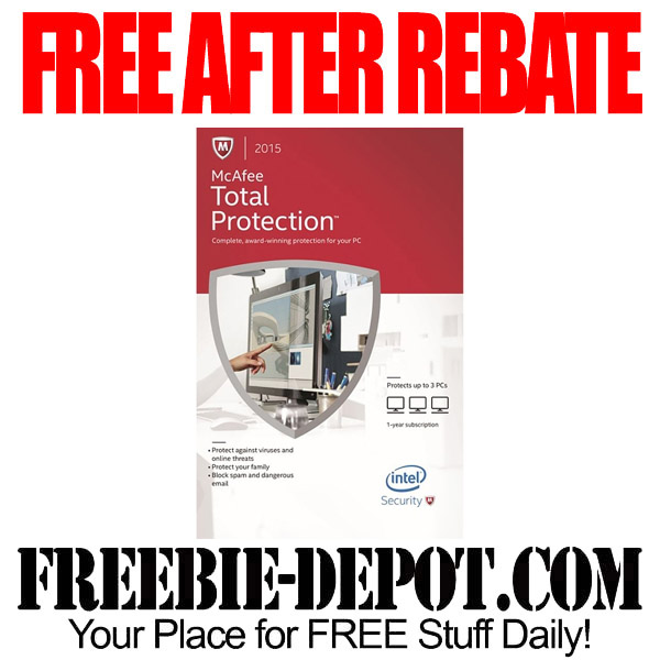 FREE After Rebate Computer Protection Software