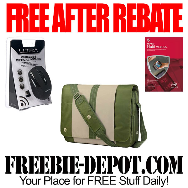 Free After Rebate Messenger Bag and Mouse