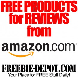 FREE Products for Reviews from Amazon.com ★★ AWESOME FREEBIES! ★★