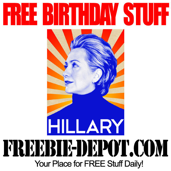 Free Birthday Hillary Clinton