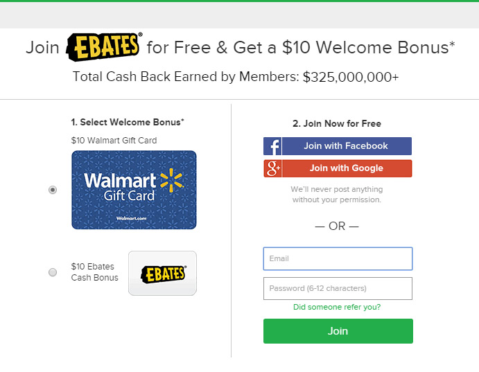 FREE $10 Cash or $10 Walmart Gift Card | Freebie Depot