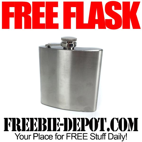 Free Liquor Flask