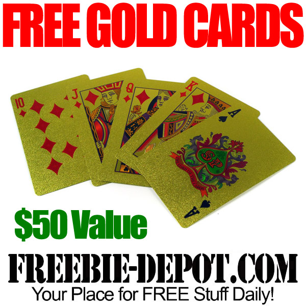 Free Gold Playing Cards