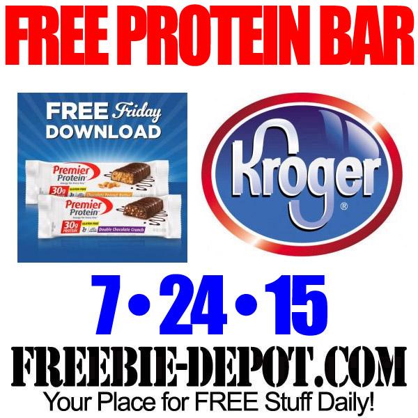 Free Kroger Protein Bar