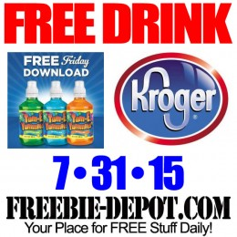FREE Tum-E Yummies Drink – Kroger Freebie Friday Download – FREE Digital Coupon – 7/31/15