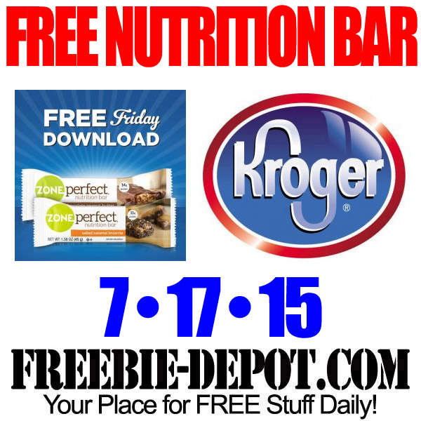 Free Kroger Zone Perfect Bar Digital Coupon