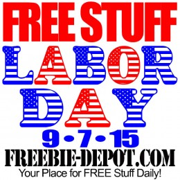 FREE Stuff for Labor Day 2015 – Patriotic Freebies – 9/7/15