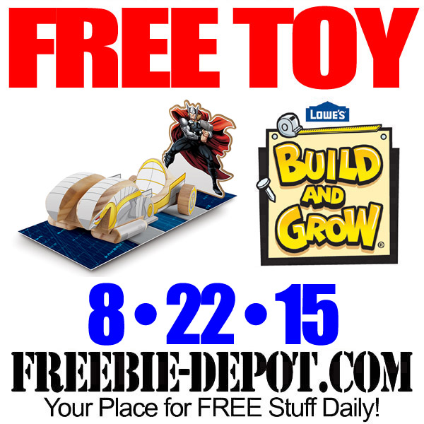 Free Lowes Avenger's Thor's Chariot