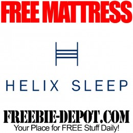 FREE Mattress from Helix Sleep – $600+ Value!