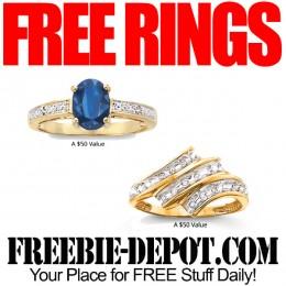►► HOT ►► 2 FREE Gemstone Rings – $100 Value – Thru 7/3/15 ONLY