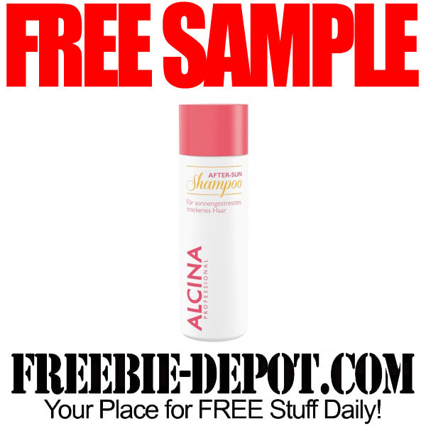 FREE SAMPLE – Alcina Professional After-Sun Shampoo – FREE Summer Shampoo Sample