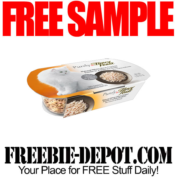 FREE SAMPLE – Purely Fancy Feast Cat Food – FREE Full-Size Sample ...