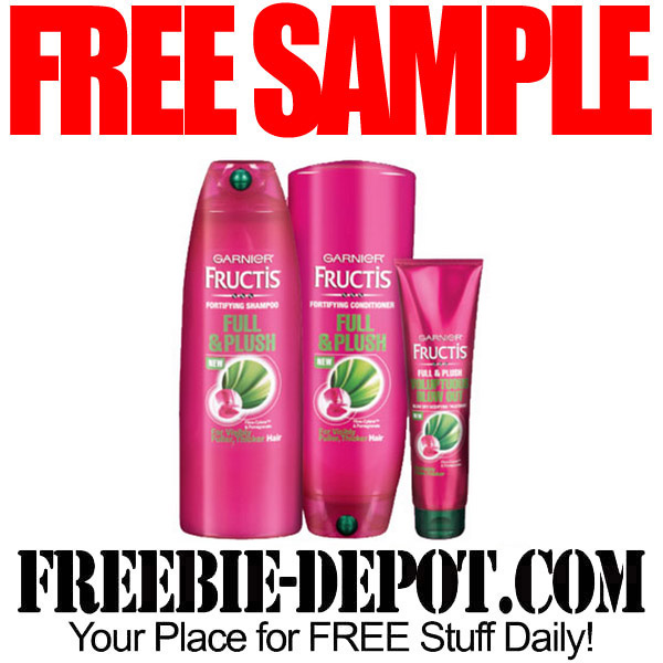 Free Sample Hair Care by Mail from Garnier