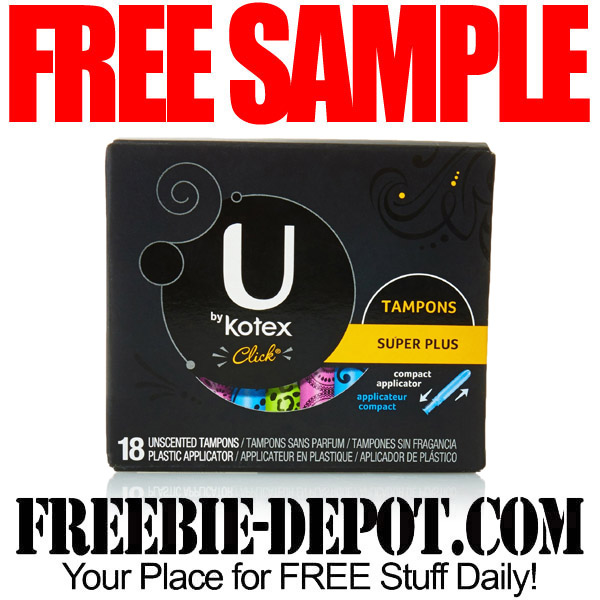 Free-Sample-Kotex-Tampons